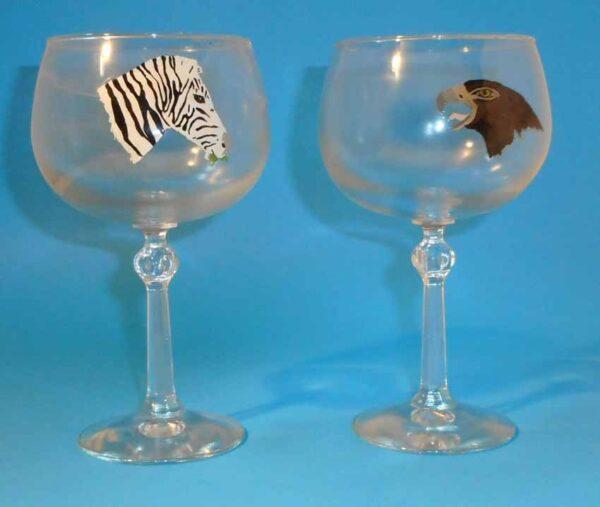 stemmed-brandy-glasses